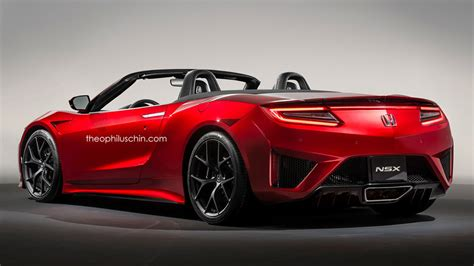 Acura Nsx Convertible by Honda Nsx Convertible Gets Rendered Forcegt
