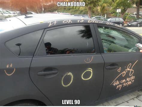 chalkboard paint car dont paint your car chalkboard color by olmec meme center