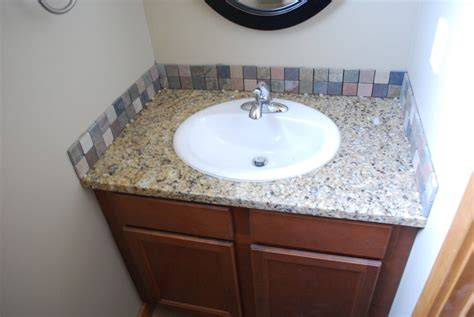bathroom backsplash ideas 30 ideas of using glass mosaic tile for bathroom backsplash