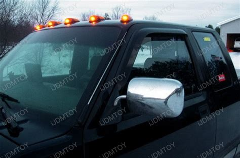 roof for lights 5x led cab roof marker running lights for truck suv