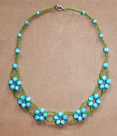 how to make bead jewelry patterns 25 best ideas about beaded necklace patterns on