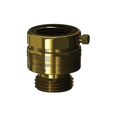 vacuum breaker woodford 3 4 in x 3 4 in brass add on hose connection