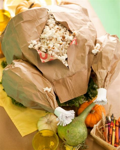 martha stewart thanksgiving crafts for paper bag turkey martha stewart