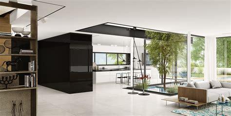 white residence black and white residence studiomaayan