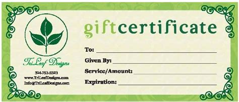 how to make gift cards for business business gift certificates uprinting