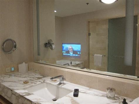 tv bathroom mirror tv fitted in the bathroom mirror picture of four seasons