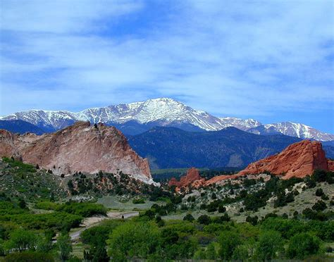 Garden Of The Gods To Pikes Peak Pikes Peak And Garden Of The Gods 1 By Joseph R Luciano