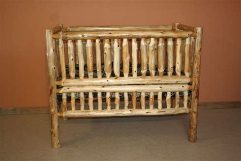 rustic log baby crib 25 best ideas about log crib on rustic baby