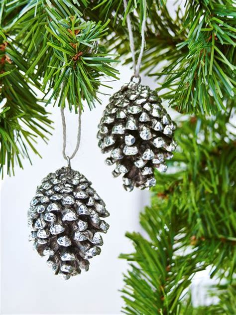 pine cones tree ornaments pine cone tree ornament decorations from