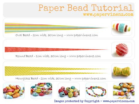 how to make paper jewelry paper bead tutorial summer papervine