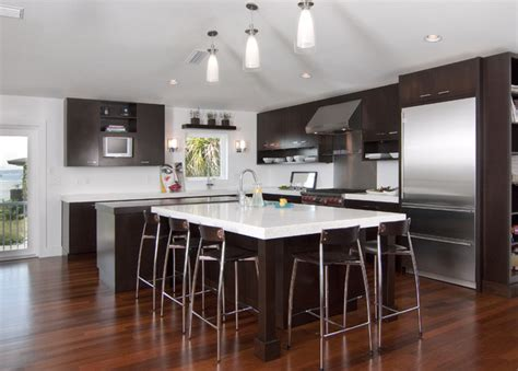 contemporary kitchen cabinets for a modern kitchen simplicity
