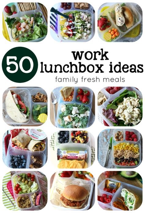 ideas for work 50 healthy work lunchbox ideas family fresh meals