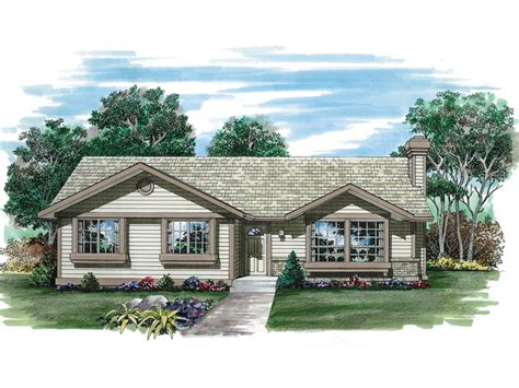Rectangle House Floor Plans de balivere ranch home plan 062d 0259 house plans and more