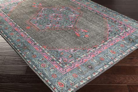 pink area rug surya zahra zha 4006 grey teal pink area rug