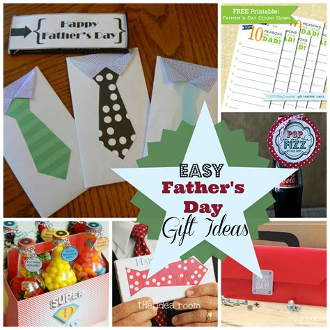 ideas for fathers day diy s day gift ideas