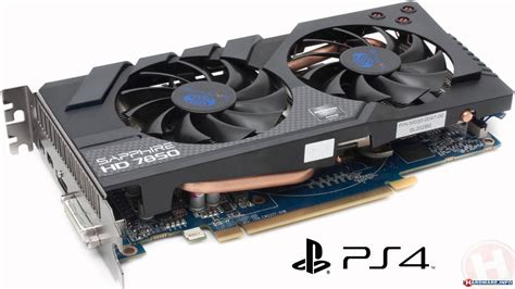 how to make a graphics card the pc equivalent of the ps4 graphics card gpu