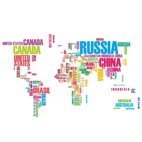 Buy Wall Mural aliexpress com buy colorful letters world map wall