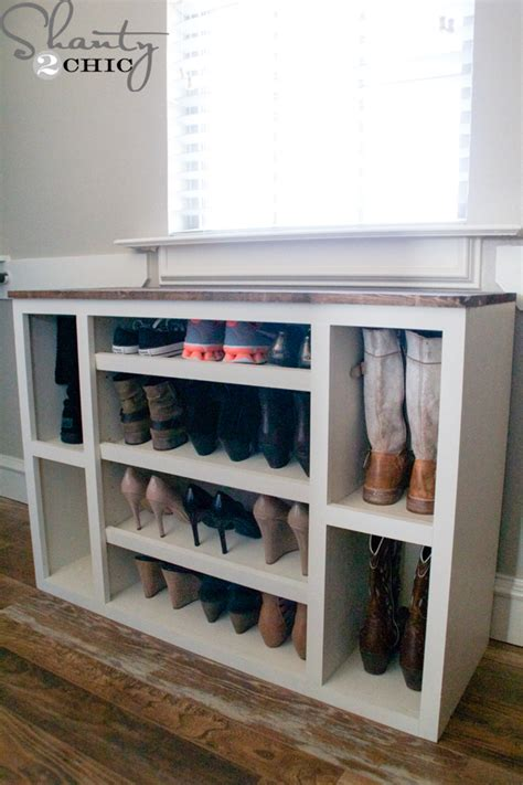 diy cabinet storage diy shoe storage cabinet shanty 2 chic