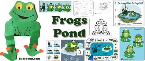 craft activities free frogs crafts activities and printables kidssoup
