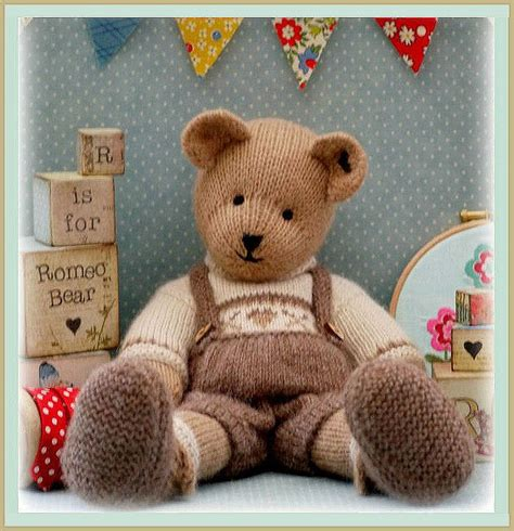 teddy knitting patterns free romeo teddy knitting pattern pdf plus free