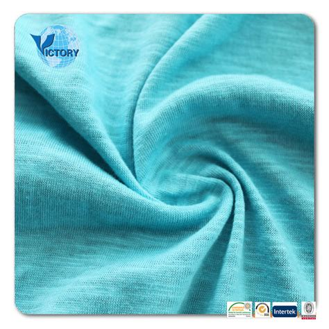 cheap knit fabric cheap slub single jersey knit fabric for clothes buy 100
