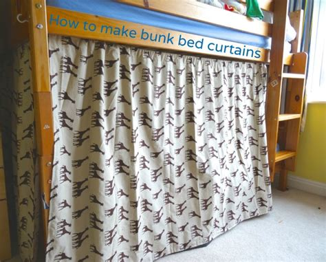how to make bunk bed how to make bunk bed curtains