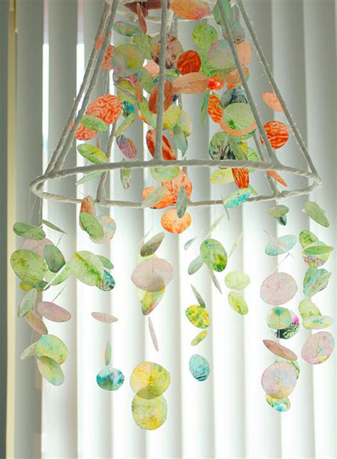 wax paper crafts make a wax paper and crayon chandelier 187 dollar store crafts