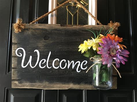 front door welcome signs front door welcome sign front porch welcome sign by