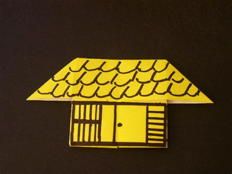 easy origami house origami origami house
