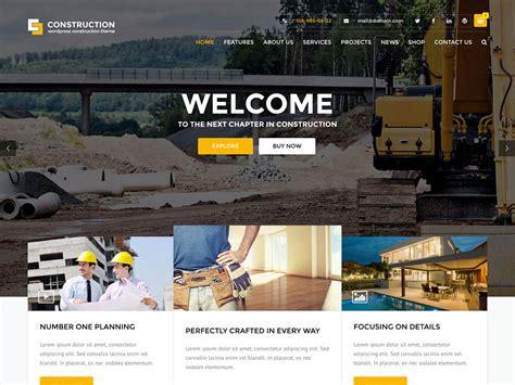 company themes the 25 best construction company themes 2016