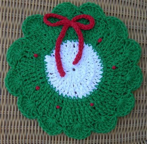 knitting holidays dishcloth pattern crochet