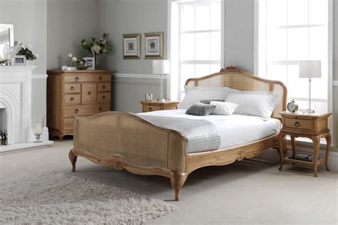 oak bedroom furniture sets uk inspired oak rattan bed solid oak