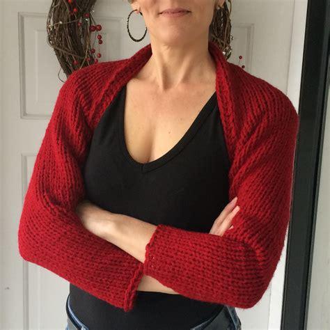 easy bolero knitting pattern simple knitted shrug marni made it