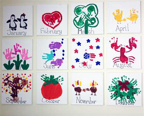 calendar craft for handprint calendar craft idea crafty morning