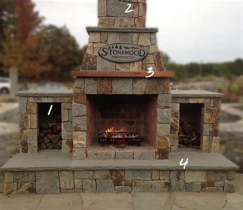 outdoor fireplace kit outdoor fireplaces fireplace kits cape cod ma