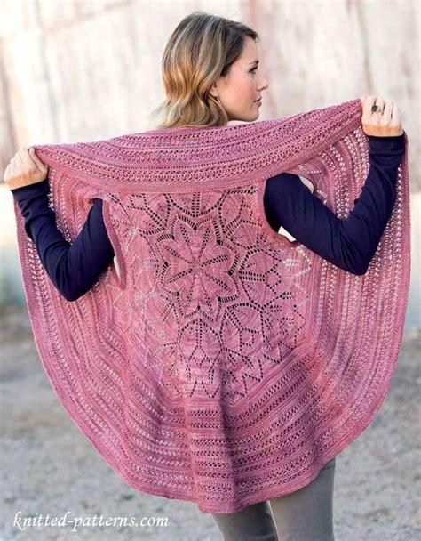 circular knitting patterns circular vest knitting pattern free for the of