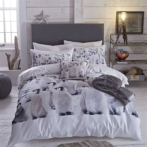 bed covers set penguin single king duvet quilt cover cotton rich