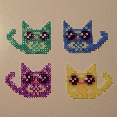 perler bead cat 89 best images about hama cats on perler