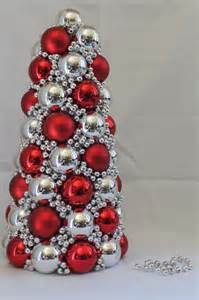 how to make a tree with ornaments saturday project ornament tree the organized