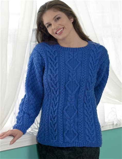 cable knit sweater pattern how to knit a cable easy as 1 2 4 3 stitch this