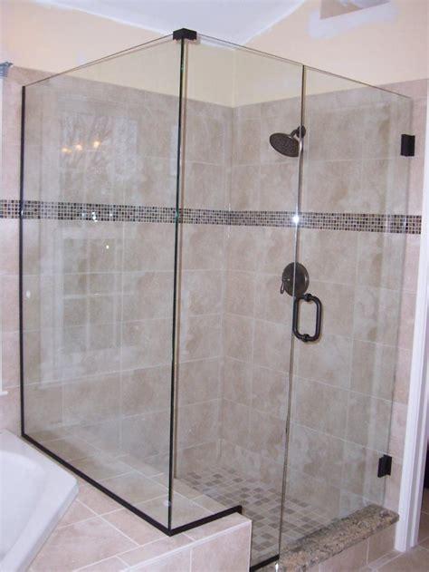 frameless shower vs u channel the glass shoppe a