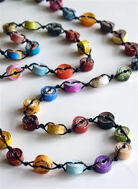 paper bead jewelry ideas collecting vintage and contemporary jewelry recycled