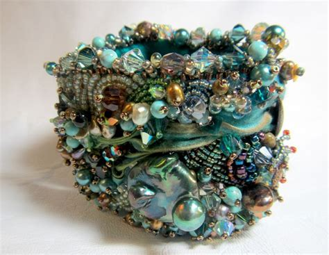 bead cuffs 32 best beaded inspiration images on