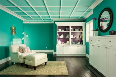 home depot aqua paint colors 10 bold ceiling colors inhabit