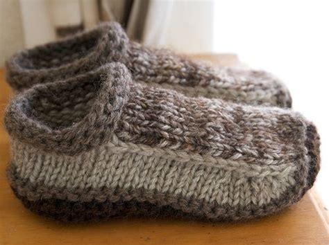 free knitted slipper patterns slipper knitting patterns in the loop knitting