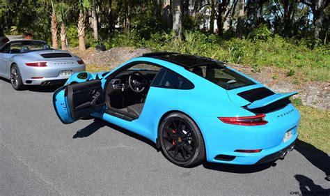Car Wallpaper 2017 Team Blue by 2017 Porsche 911 S Drive In Miami Blue