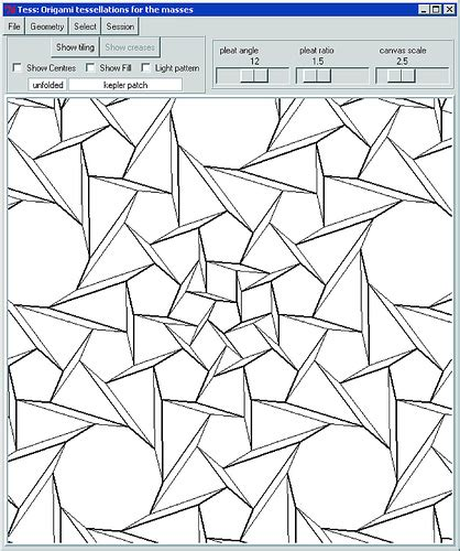 origami tessellations pdf tessellations to color
