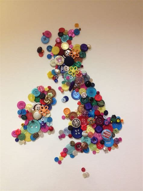 craft uk button craft uk map wall colourful how do you do