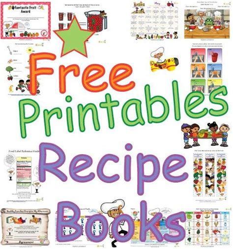healthy picture books healthy recipe books for for print