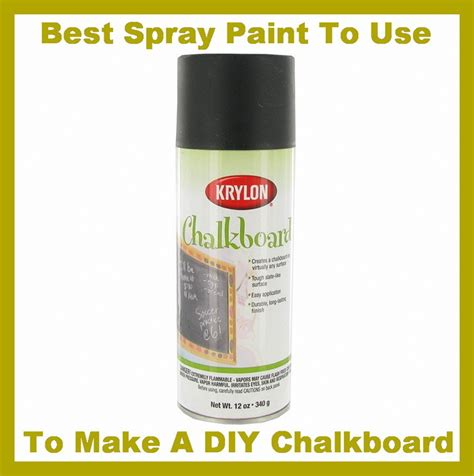 chalkboard paint spray how to make a chalkboard from a of wood easy cheap